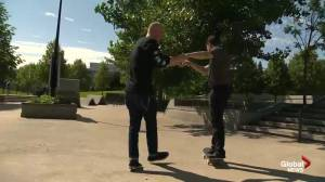 Skateboarding Lessons at The Forks Pt. 3
