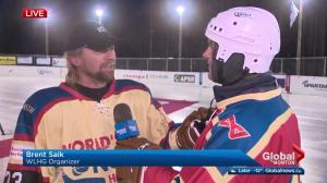 Founder Brent Saik on importance of World's Longest Hockey Game