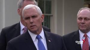 Pence says Democrats 'unwilling to negotiate' to end shutdown