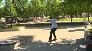 Skateboarding Lessons at The Forks Pt. 2