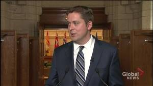 Scheer says Ontario PC government's lower taxes, fight against carbon tax good for Canadians
