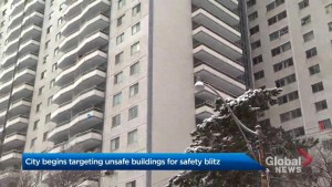 Toronto launches blitz targeting unsafe buildings