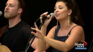 Canadian country music star Jess Moskaluke partners with Musicounts program for young students