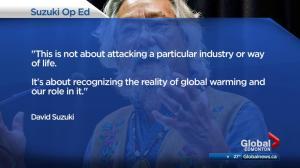 Suzuki responds to U of A honorary degree