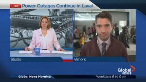 Power outages continue in Laval