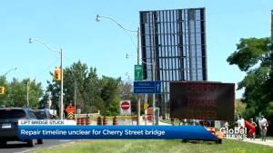 Unknown timeline for Cherry Street lift bridge repairs