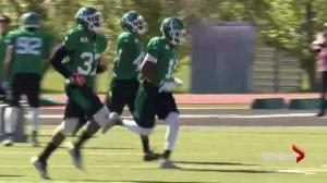2 veterans battle for safety job at Saskatchewan Roughriders training camp