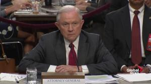 Jeff Sessions admits Comey was 'concerned' about meeting with Trump