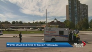 Female pedestrian struck and killed in Mississauga