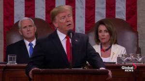 State of the Union: Trump says he'll push to prohibit late-term abortion