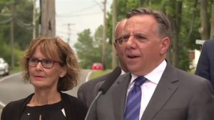 CAQ's Francois Legault pledges school tax reform