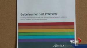 LGBTQ guidelines for Alberta schools