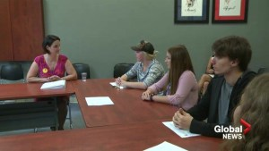A youth services center gets government attention