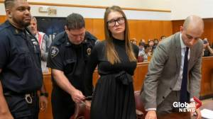 Fake heiress Anna Sorokin sentenced to 4-12 years in prison