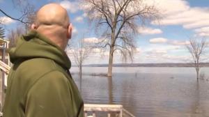 Ottawa man enduring flooding after tornado ruined home