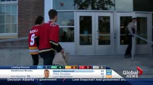 Alberta Election 2015: Flames fans check in from the 'Red Mile'