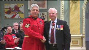 RCMP Constable Herbert Waye receives Star of Courage for his actions during Ottawa shooting