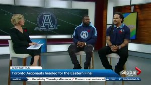 The Argos gearing up for the Eastern Division Final
