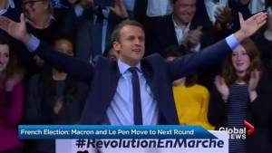 French voters narrow choice for president to Macron, Le Pen