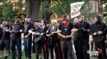 Demonstrators on University of Virginia campus to police: Why are you in riot gear?
