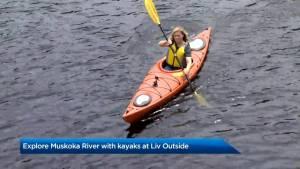 Exploring Muskoka with kayaks