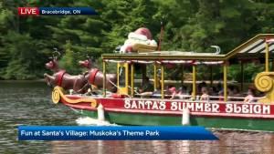 Muskoka's Santa theme park