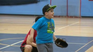 Getting children active in a growing sport