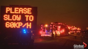 Saskatchewan tow truck drivers rallying for safety
