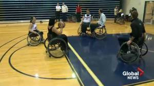 Wheelchair athletes taking focus away from disability and onto their abilities
