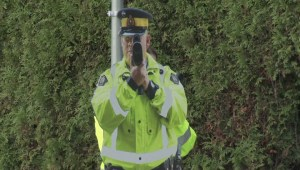 'Constable Scarecrow' project keeps Coquitlam drivers from speeding