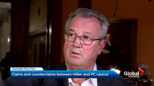 Claims and counterclaims between Randy Hillier, Ontario PC Party caucus