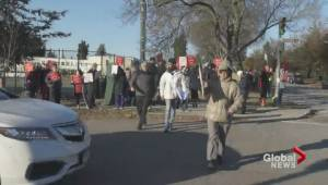 Vancouver residents protest modular housing plans