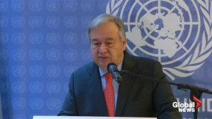 UN's Guterres says hopes to restart peace talks in Yemen before year-end