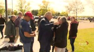 Doug Ford meets with people impacted by Ottawa tornadoes, Red Cross volunteers