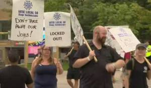 Union pickets at CNE creating delays