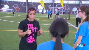 Desiree Scott joins Global News Morning to discuss annual soccer camp