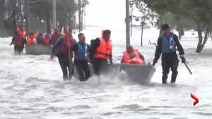 Tampa Bay residents dealing with largest storm in a century
