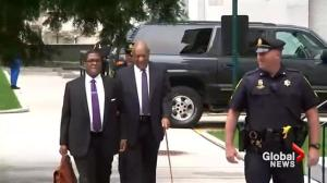 Bill Cosby arrives in court for second day of sexual assault trial