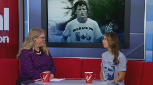 Terry Fox Run in Saskatoon