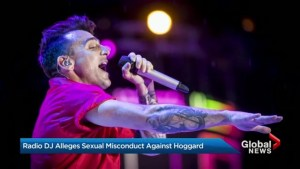 Calgary radio DJ alleges sexual misconduct against Hedley's Jacob Hoggard