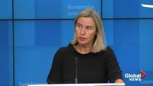 EU's Mogherini: Iran nuclear deal parties not ready to trigger dispute mechanism
