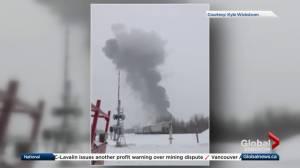 Crews respond to industrial explosion in Entwistle (01:25)