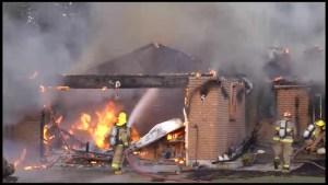 House fire near Centreton, Ont.