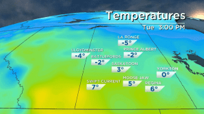 Saskatoon weather outlook: warm start to the week before Christmas