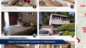 Organization raises concerns over short term rentals like Airbnb in Vancouver