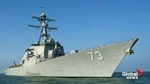 Beijing critical of U.S. military operation in the South China Sea