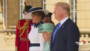 Queen Elizabeth II welcomes Trump with official ceremony at Buckingham Palace