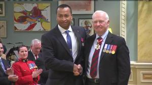 House of Commons security officer Samearn Son awarded Star of Courage for his actions during Ottawa shooting
