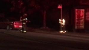 Three suspicious fires around downtown Kelowna Thursday night