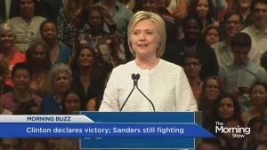 Hillary Clinton makes US history